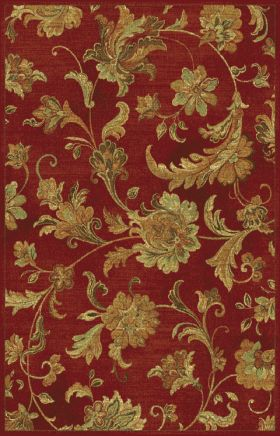 Kas Transitional Rugs Versailles Red 13389