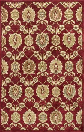 Kas Transitional Rugs Versailles Red 13398