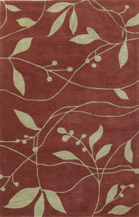 Kas Transitional Rugs Bali Red 13918