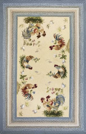 Kas Braided Rugs Fairfax Ivory 14037