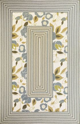 Kas Braided Rugs Fairfax Ivory 14038