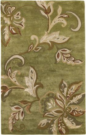 Kas Transitional Rugs Florence Green 14046