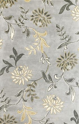Kas Transitional Rugs Florence Grey 14047