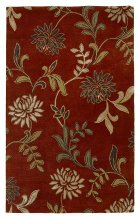 Kas Transitional Rugs Florence Red 14048