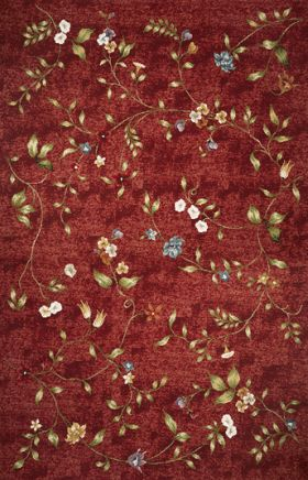 Kas Transitional Rugs Horizon Red  14053