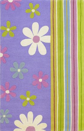 Kas Kids Rugs Kidding Around Purple 14074