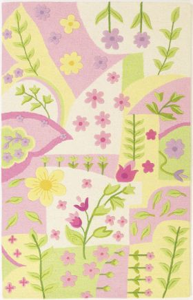 Kas Kids Rugs Kidding Around Pink 14079