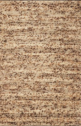 Kas Braided Rugs Cortico Brown 14092