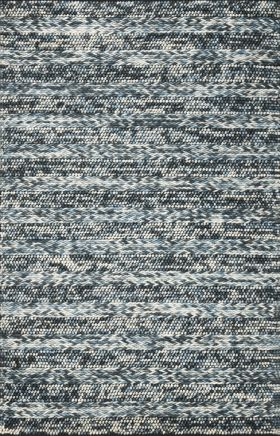 Kas Braided Rugs Cortico Blue 14096