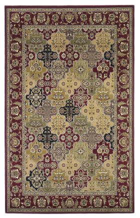 Kas Traditional Rugs Cambridge Red 14129