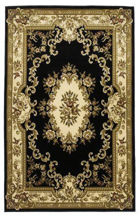 Kas Traditional Rugs Corinthian Black 14147
