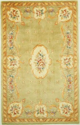 Kas Traditional Rugs Ruby Green 14189
