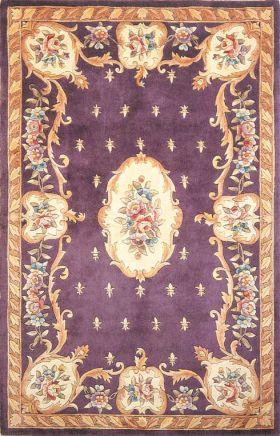 Kas Traditional Rugs Ruby Purple 14190