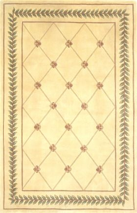 Kas Traditional Rugs Ruby Ivory 14192