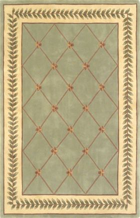 Kas Traditional Rugs Ruby Green 14193
