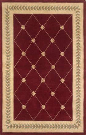 Kas Traditional Rugs Ruby Red 14194