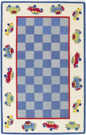 Kas Kids Rugs Kidding Around Blue 14211