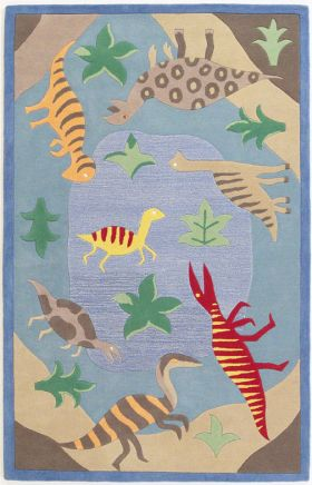 Kas Kids Rugs Kidding Around Blue 14212
