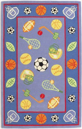 Kas Kids Rugs Kidding Around Blue 14213
