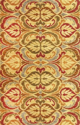 Kas Traditional Rugs Lifestyles Yellow 14231