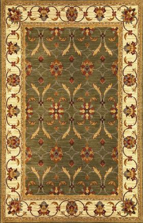 Kas Traditional Rugs Lifestyles Green 14235