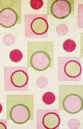 Kas Contemporary Rugs Signature Pink 14238