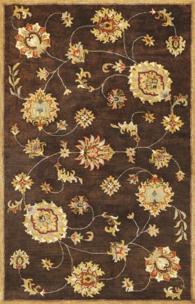 Kas Traditional Rugs Syriana Brown 14265