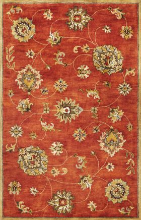 Kas Traditional Rugs Syriana Orange 14266