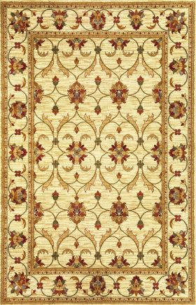 Kas Traditional Rugs Lifestyles Ivory 14267