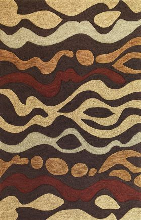Kas Contemporary Rugs Milan Brown 14289