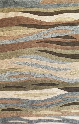 Kas Contemporary Rugs Milan Green 14291