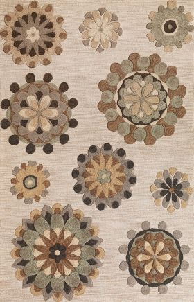 Kas Contemporary Rugs Milan Beige 14293