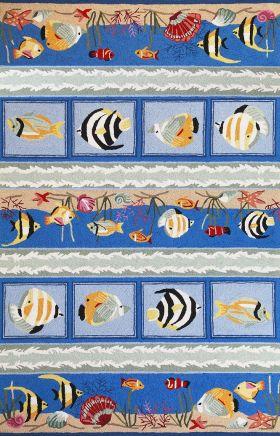 Kas Contemporary Rugs Sonesta Blue 14313