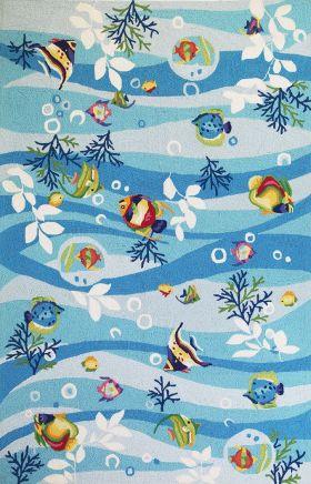 Kas Contemporary Rugs Sonesta Blue 14317
