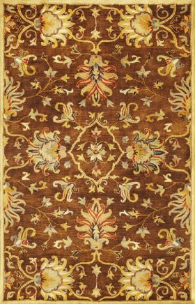 Kas Traditional Rugs Syriana Brown 14328