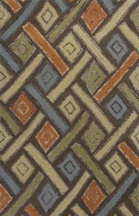 Kas Contemporary Rugs Geo Multicolor 14401