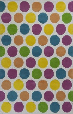 Kas Contemporary Rugs Kidding Around Multicolor 14408