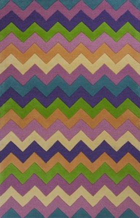 Kas Contemporary Rugs Kidding Around Multicolor 14409