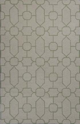 Kas Contemporary Rugs Mercer Ivory 14414