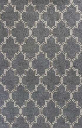 Kas Contemporary Rugs Mercer Grey 14417