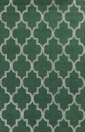 Kas Contemporary Rugs Mercer Green 14418