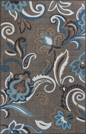 Kas Transitional Rugs Serafina Brown 14426