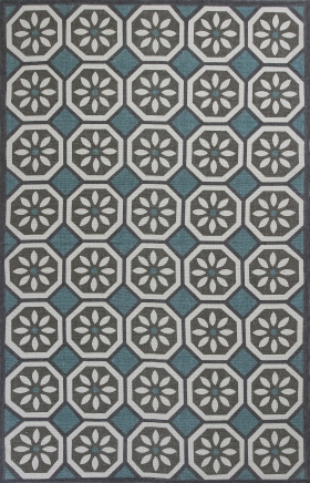 Kas Transitional Rugs Serafina Blue 14430
