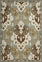 Jaipur Traditional Rugs Barcelona-I-O Blue 14462
