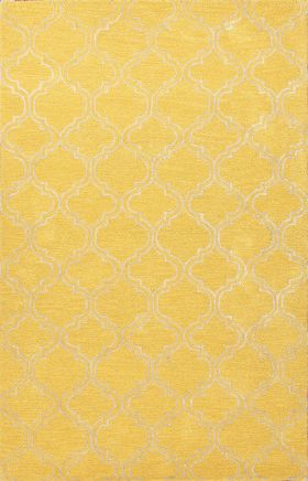 Jaipur Transitional Rugs Baroque Yellow 14547