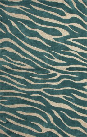 Jaipur Animal Print Rugs Brio Green 14562