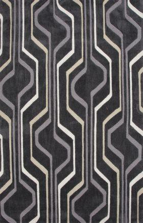 Jaipur Contemporary Rugs Brio Black 14574