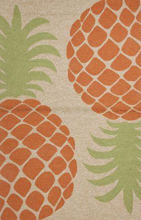 Jaipur Contemporary Rugs Coastal I-O Orange 14633