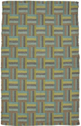 Jaipur Transitional Rugs Cosmos Green 14655