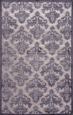 Jaipur Floral Rugs Fables Gray 14758